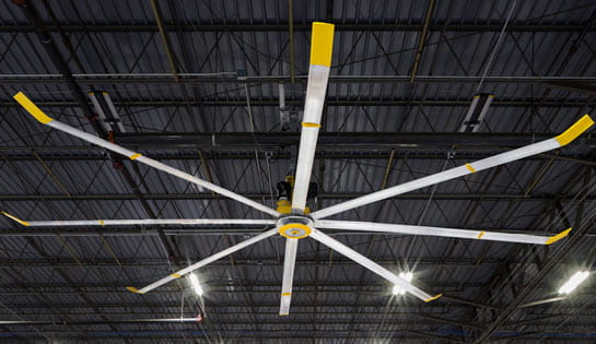 Industrial Fans for Warehouses from Big Ass Solutions