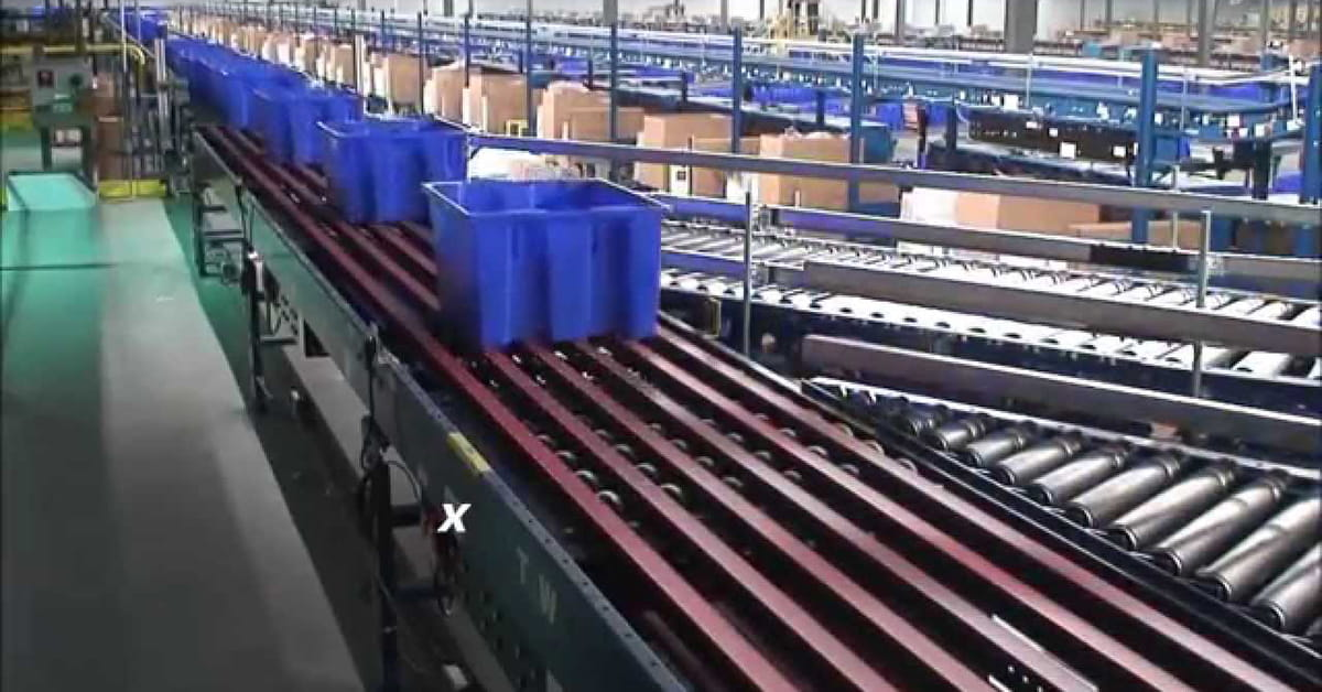 conveyor sortation solutions