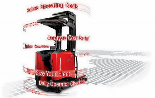 how to reduce lift truck fleet costs