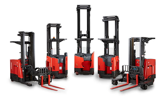 Raymond Reach-Fork Trucks, Narrow Aisle Forklifts