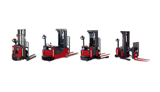 Raymond Electric Walkie Stacker Trucks