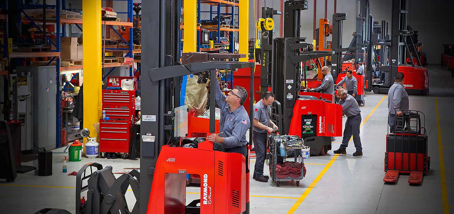 Raymond RENEWED certified used forklifts