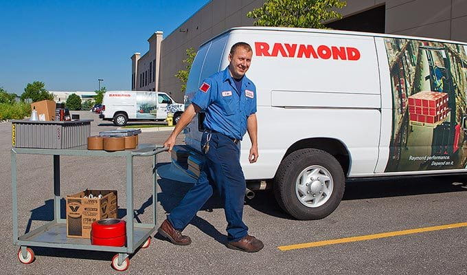 Raymond Forklift Parts Programs