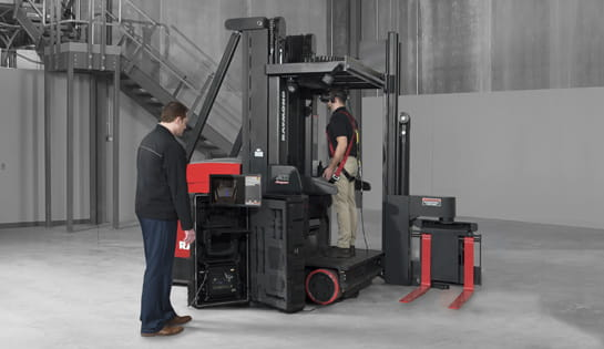 virtual reality simulator, forklift operator