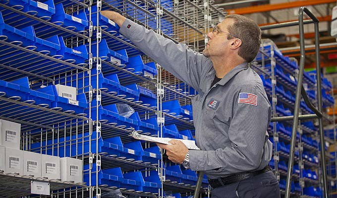Raymond Warehouse Shelving and Storage Solutions