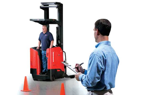 Forklift Operator Training, Raymond Forklift Training