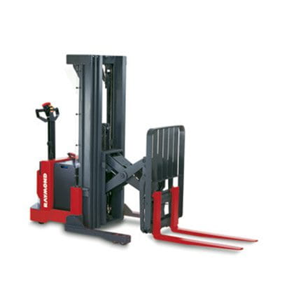 Raymond Walkie Reach Stacker, reach pallet stacker, pallet stacker